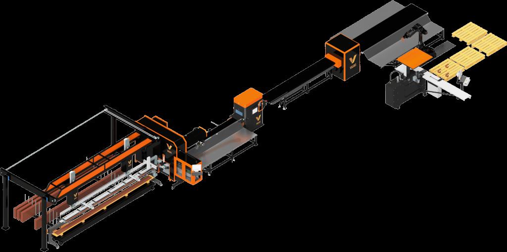 Vaski Flat bar Automation FMS